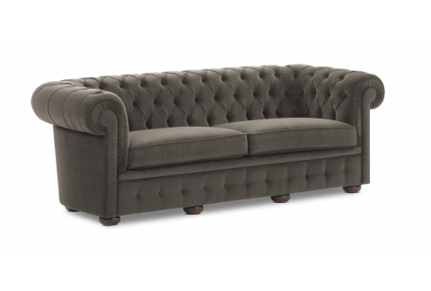 Chesterfield, gris plomb