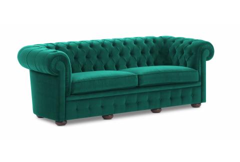 Chesterfield, vert malachite